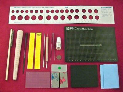 PMC Precious Metal Clay Silver Art Clay Tool Set, Ring & Jewelry Starter Kit