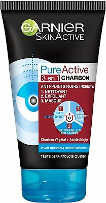 Garnier Pure Active Intensive 3In1 Anti-Punti Neri 150 Ml