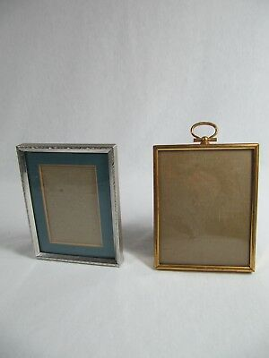 Vintage - Metal - Silver Tone & Gold Tone Picture Frames - HTF