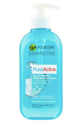 Garnier Pure Active Gel Detergente Purificante Quotidiano 200 Ml