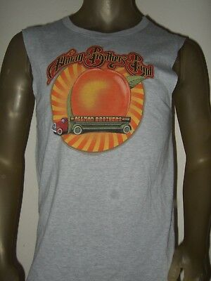 986da5987ab8 New Men s S-XL The Allman Brothers Truck Eat A Peach Band Muscle Tank Top