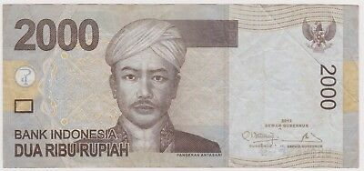 (N13-11) 2012 Indonesia 2000 Rupee bank note (B)