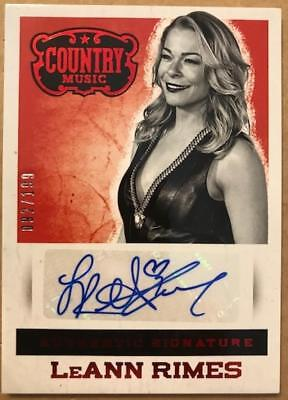 2014 Panini Country Music Signatures Autograph (Green/Red/Silver) Pick From List