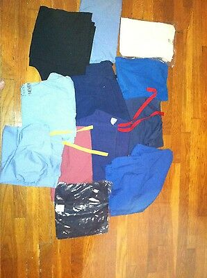 LOT of 12 NURSING MEDICAL SCRUBS