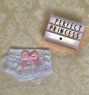 Baby Girls Spanish Ruffle Bow Knickers/Pants/Bloomers