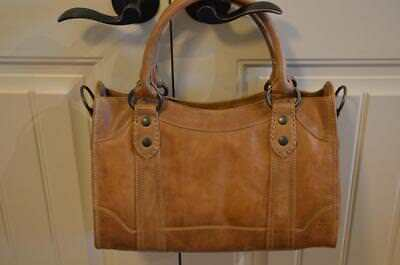 38bbeb795b NWT FRYE MELISSA Satchel Handbag Beige Leather Db147  388 -  339.99 ...