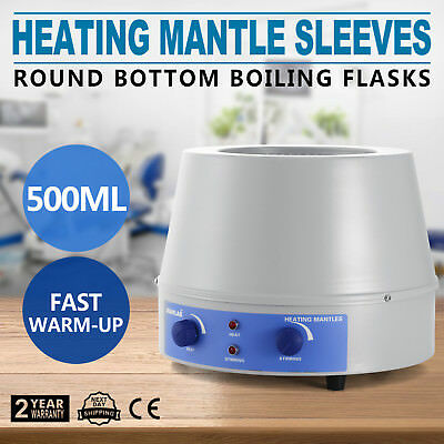 Temperature Control & Magnetic Stirring Heating Mantles 500 ml