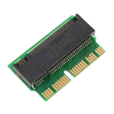 PCI-E x4 M.2 NGFF to SSD Adapter Card for Apple MacBook A1465 A1466 A1398 A1502