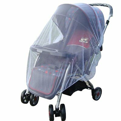 Infant Baby Kids Stroller Pushchair Encrypted mosquito net Mesh Buggy Cover NT5