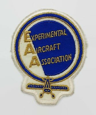Experimental Aircraft Association EAA Airplane Aviation Patch