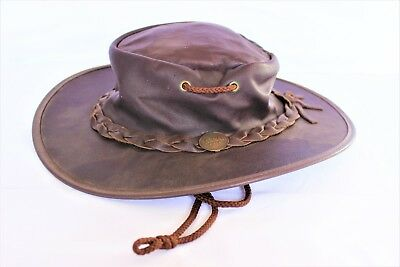BARMAH Sundowner Kangaroo Leather hat