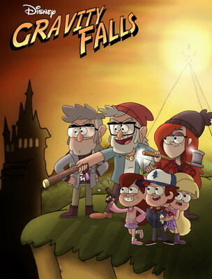"081 Gravity Falls - Disney Mabel Pines USA Cartoons 14""x18"" Poster"