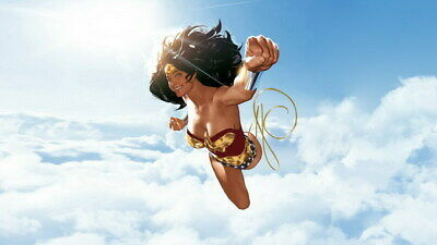 """074 Wonder Woman - Sexy Girl Justice League USA Hero 24""""x14"""" Poster"""
