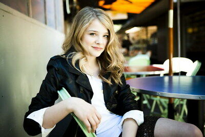 "091 Chloe Moretz - Hit Girl Beauty Hot Movie Actress Star 21""x14"" Poster"