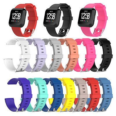 Silicone Replacement WristBand Watch Strap Band For Fitbit Versa Smart bracelet
