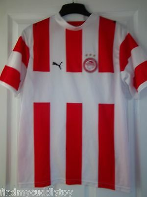 Greek Olympiakos Puma Football Club Home Shirt Size Xs