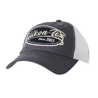 Helikon Tex Trucker Old School Logo Cap - Cotton Twill - Shadow Grey Mütze