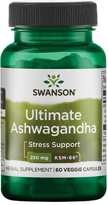 2X Swanson Ultimate Ashwagandha KSM-66 for Sexual function, anxiety, stress