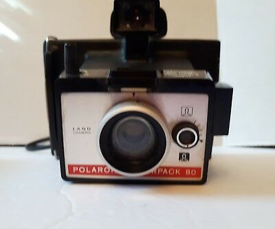 vintage polaroid colorpack 80 not tested, as is! look at the photos read details
