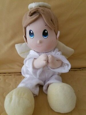 Prayer Pal Nuby, Boy Recites Now I Lay Me Down To Sleep Plush Stuffed Doll Toy