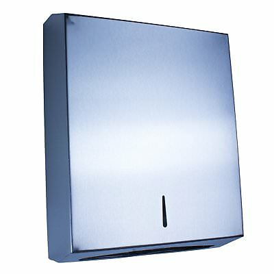 NEW Mosa Stainless steel paper towel dispenser (800 sheets) Lockable Quality