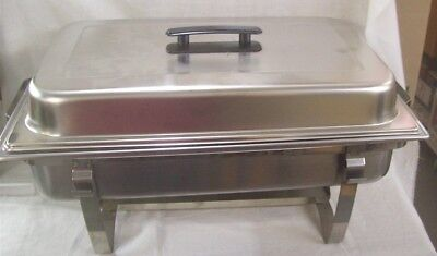 Restaurant Equipment NEW STAINLESS STEEL FULL SIZE CHAFFING RACK W/ PAN AND LID