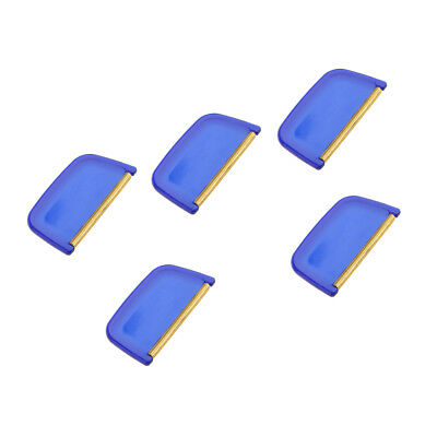5pc Manual Lint Remover Fabric Sweater Comb for De-Pilling Sweaters Clothing