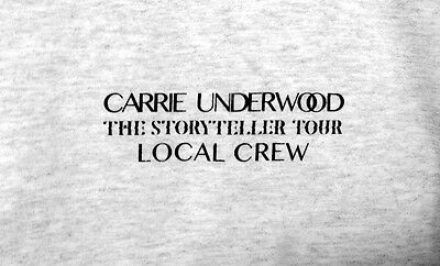 Carrie Underwood Storyteller Tour T-shirt Local Crew Great Gift