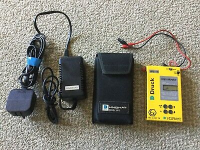 Druck UPS-Is Loop Calibrator, with case, leads and charger.