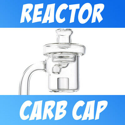 3x Three Pack Glass Directional Carb Cap for Quartz Core Reactor Banger Styles