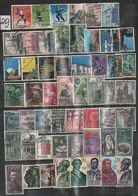 Spain Lot Of Stamps #20J