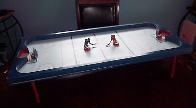 THe Original Magnetic Hockey Game complete  with original box stamped 11/ 49