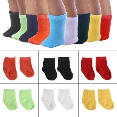 Socks Stockings for 43cm Zapf Baby Doll & 18 inch  Generation