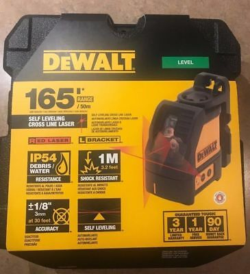 DeWalt DW088K Self-Leveling Cross Line Laser - latest packing 2018 Model