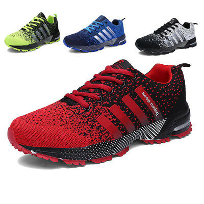Men's Outdoor Sports Shoes Casual Athletic Sneakers Low Top Breathable Trainers