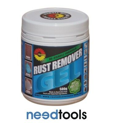 RUST REMOVER Gel 500g Rusted Solutions