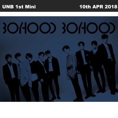 UNB BOYHOOD 1st Mini Album CD+Booklet+Photocard+Poster+Etc KBS the unit Winner