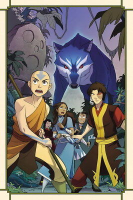 """171 Avatar The Last Airbender - Aang Fight Japan Anime 24""""x36"""" Poster"""