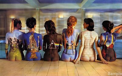Pink Floyd Back Catalogue Models Album Wall Art Poster Print A3 A4