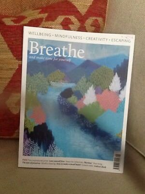 Breathe magazine #8 2017 Wellbeing Mindfulness Creativeness Escaping & more