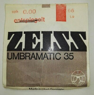 Zeiss Umbramatic 35 - Silikat/Glas - plan - NEU