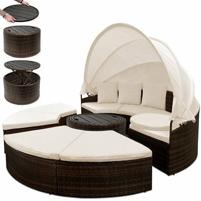 garden bed sun canopy lounger outdoor patio set large sun lounger
