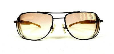 """Morgenthal Frederics NY """"Steal TH60"""" bronze frame sunglasses NR!"""