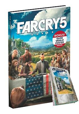 Far Cry 5 Collectors Edition Strategy Guide - IN STOCK - NEW