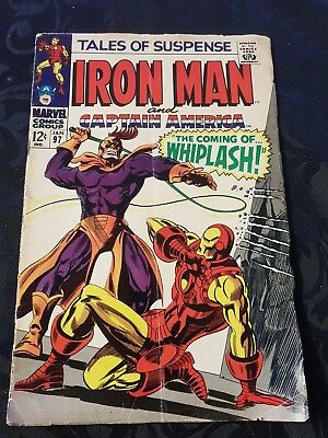 Marvel Comics Tales Of Suspence Iron Man And Captain America 1997