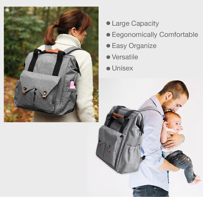 Mummy Bag Baby Diaper Nappy Backpack Maternity Large Capacity Travel Baby Bag