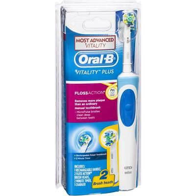 Oral B Vitality Plus Floss Action Rechargeable Electric Toothbrush