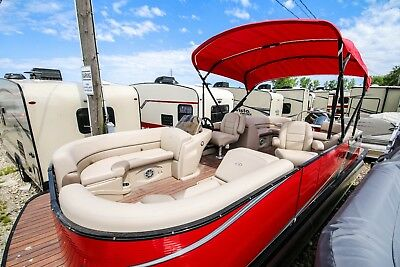 2017 AVALON Pontoon Boat LSZ QUAD LOUNGER 2485
