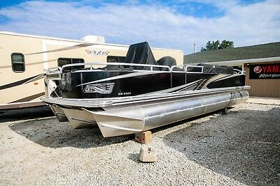 2017 AVALON Pontoon Boat GS FISH CENTER CONSOLE 25X8.5X25