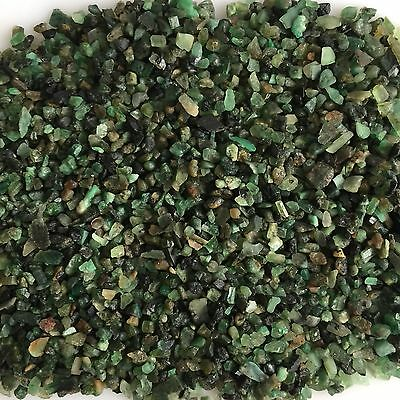 Natural Emerald Green Rough Gemstones Scoop Loose Mineral Lot Raw Unassorted